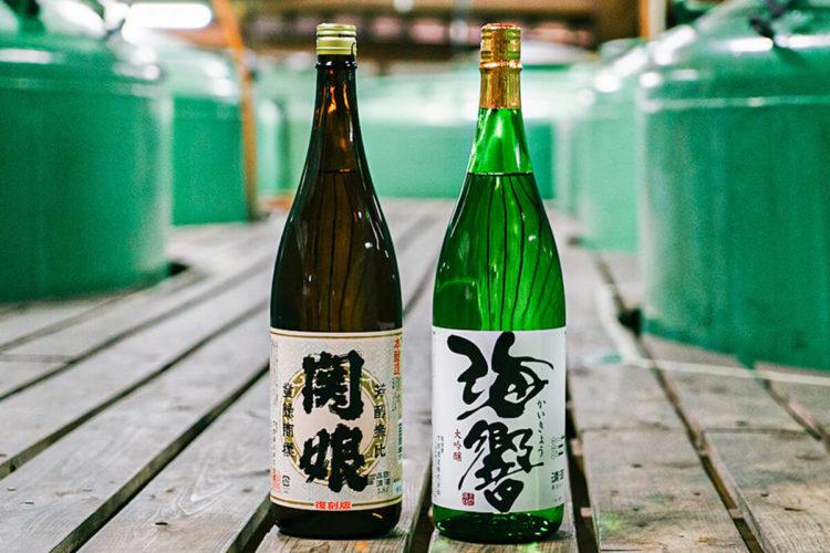 関娘,海響,大吟醸,日本酒,ペアリング